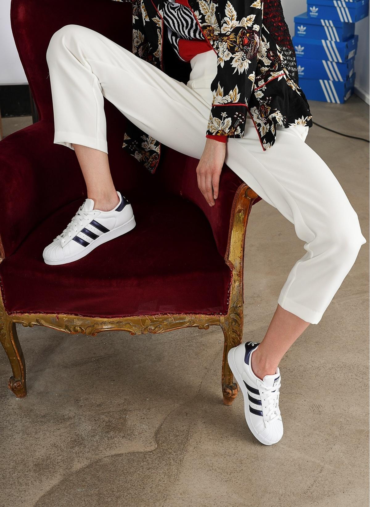 711d869354a6 adidas Kadın Superstar Ftwwht Punime Ftwwht